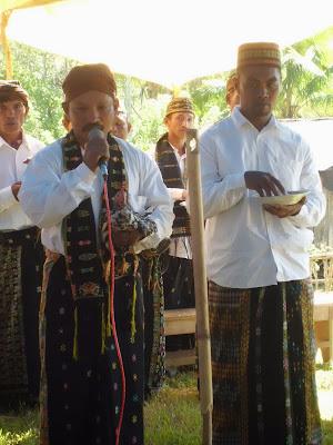 acara adat hang woja penti Kabupaten Manggarai Provinsi NTT