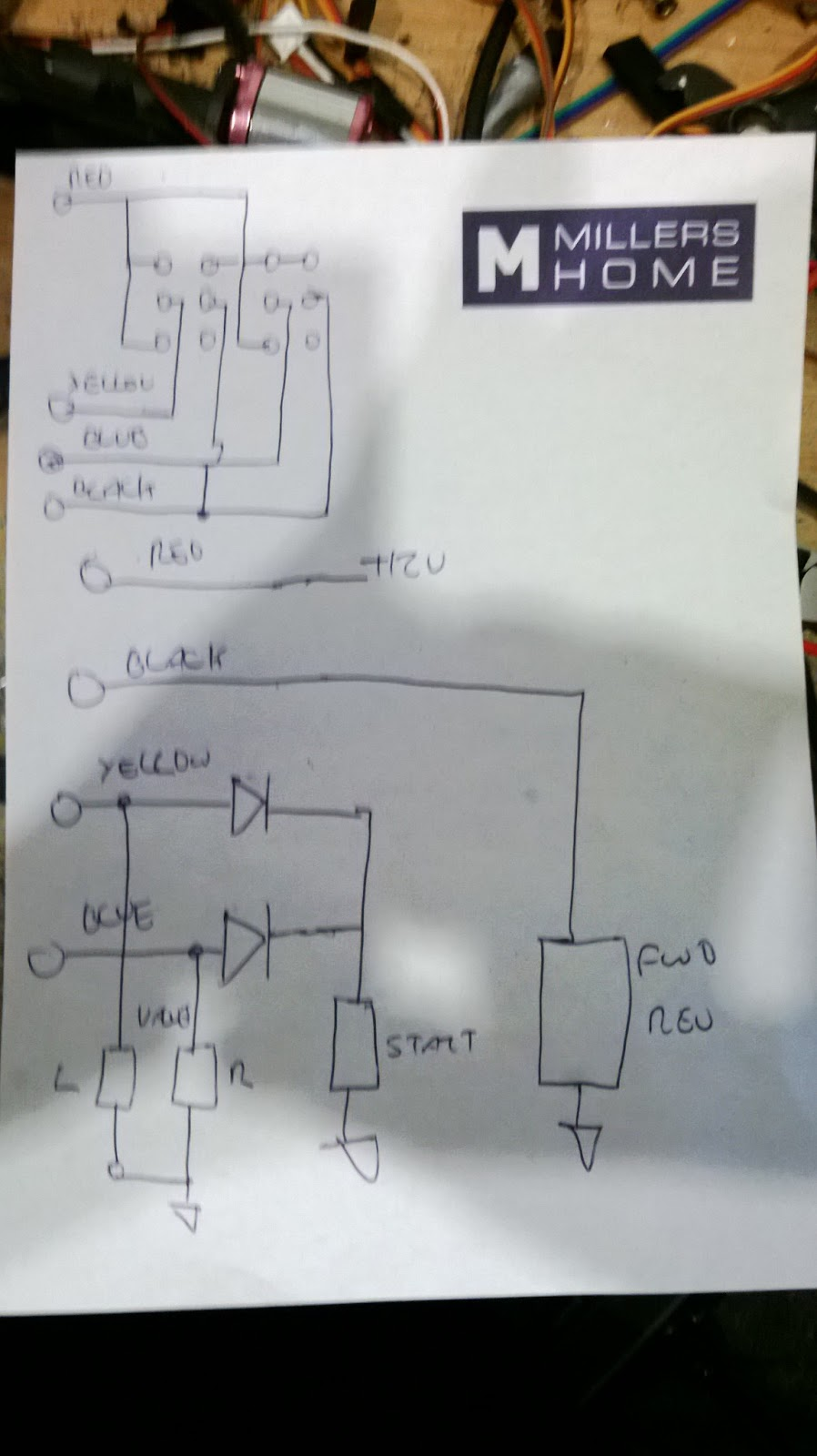 hight resolution of bennett trim tab controller for buttercup bennett trim tab pump wiring diagram boat trim tab wiring