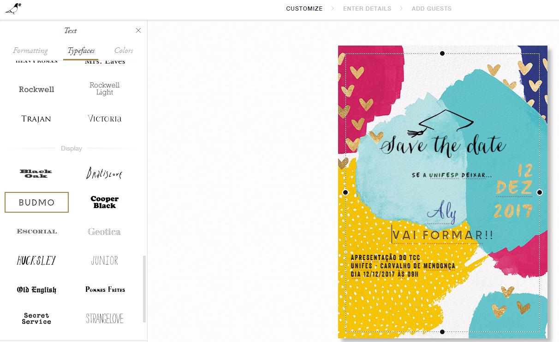 Buteco Para Garotas Como Fazer E Enviar Convites Personalizados