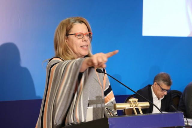 Δ. Λυμπεροπούλου: Ντιμπέιτ άνευ όρων, όρους βάζουν μόνο όσοι φοβούνται την έκθεση