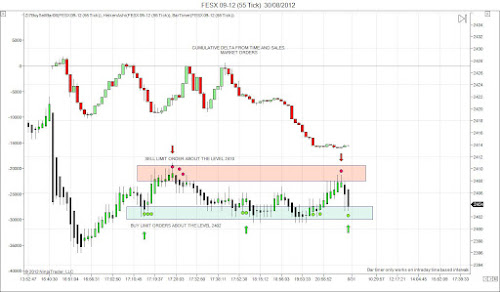 Market Profile and Order Flow Scalper: agosto 2012