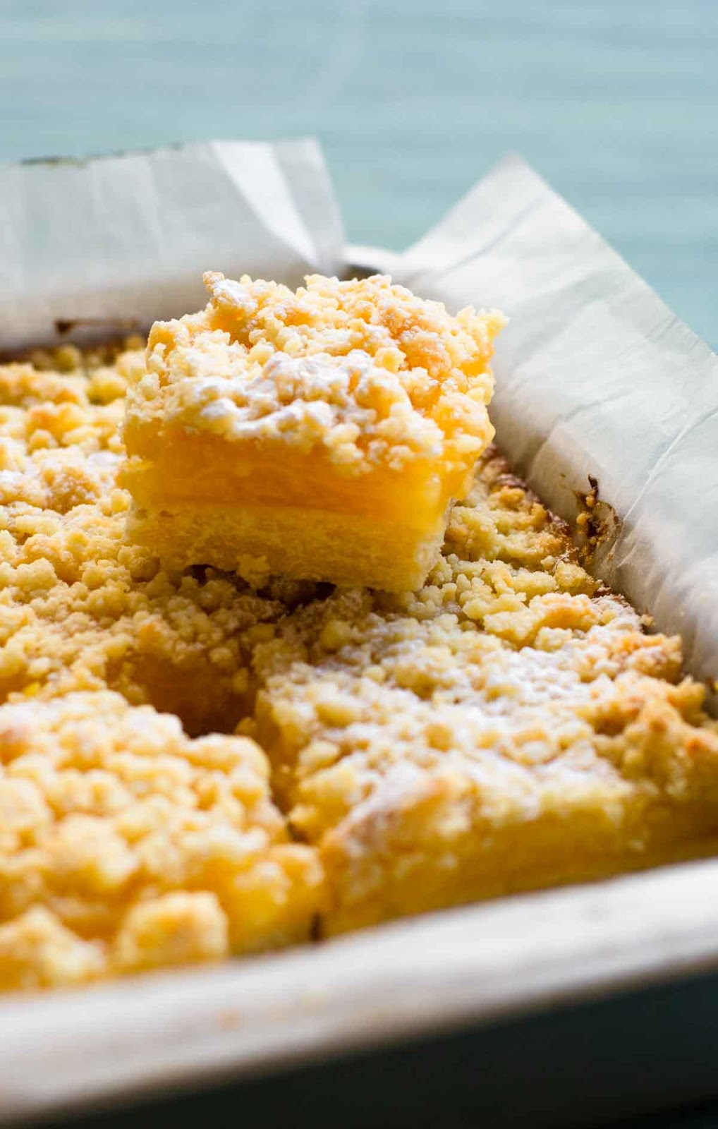 Lemon curd bars photo
