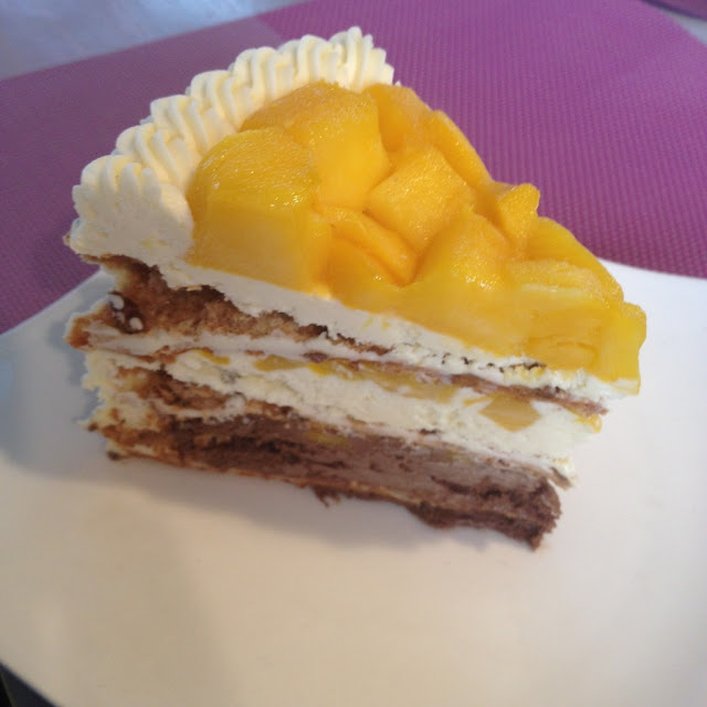 Mango heaven cake from Pink Heaven Bakeshop and Bistro in Talisay City Cebu Philippines