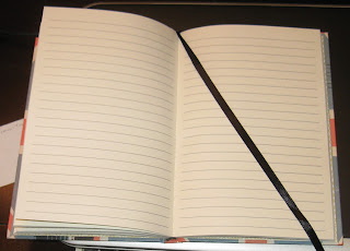 I need lines. No lines means my sentences wander all over the page like crazy!