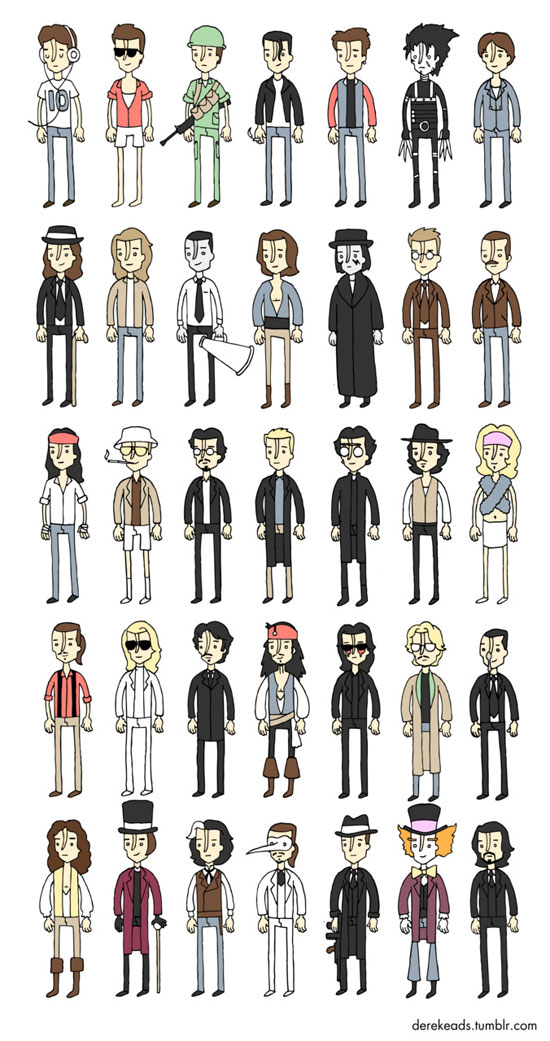 Johnny Depp The Most Versatile Character In Hollywood My