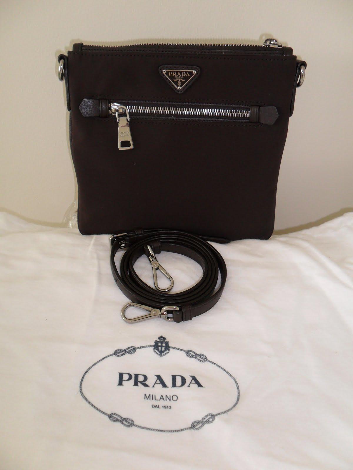 65df7026de2b ... inexpensive prada bandoliegra tessuto techno cafre sling bag be133 f3592