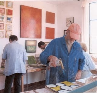 Encaustic and Cold Wax Workshops With Ezshwan in San Miguel de Allende