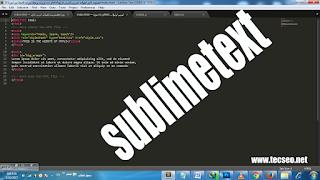 sublimetext برنامج كامل مجانا