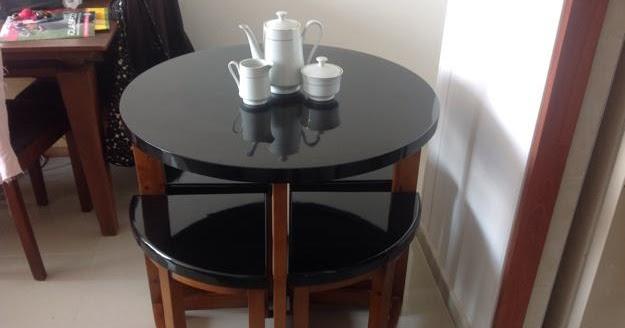 Decora hogar comedores modernos y peque os para comer con for Mesas y sillas para comedor pequeno