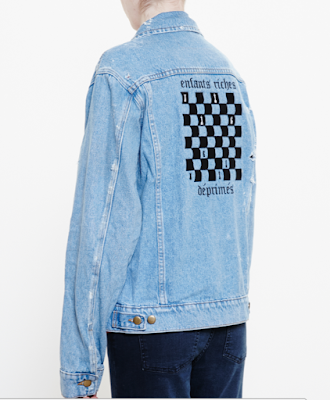 Enfants Riches Deprimes Denim Jacket Back