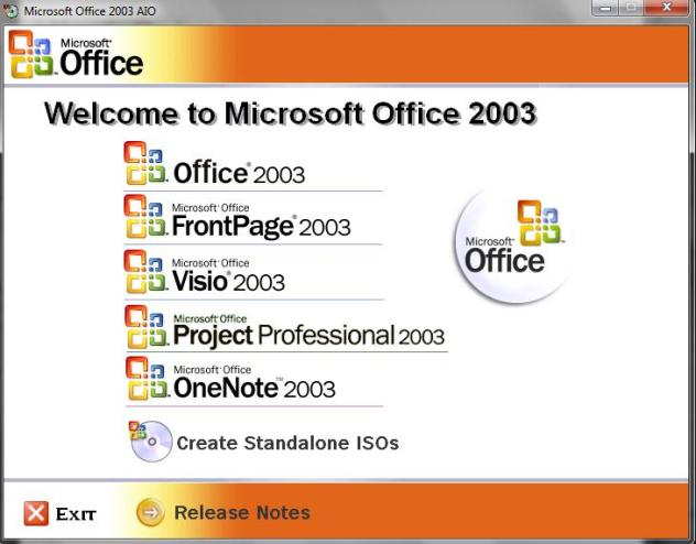تحميل برنامج Office 2003 Professional Portable Free Download