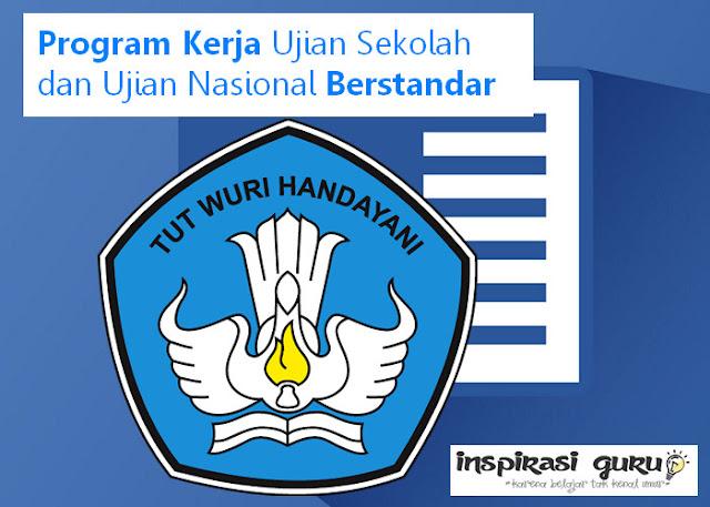 Program Kerja Ujian Sekolah dan Ujian Nasional