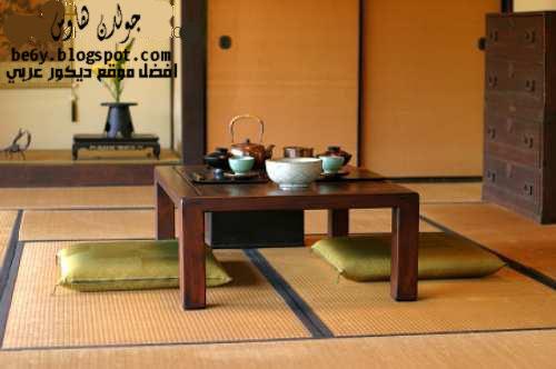 492e60a46 احدث ديكورات و اثاث غرف سفرة يابانية - Japanese dining rooms designs