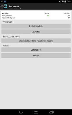 منصة الأدوات المطورة Xposed Installer إصدار احترافي للأندرويد