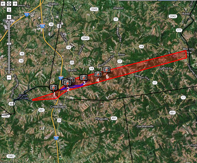 the original weather blog the tornado chronicles crittenden and piner ky tornado of 3 2 12 the original weather blog blogger