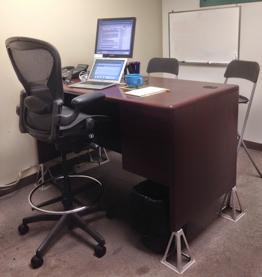 Converting to a 'Standing Desk' Office