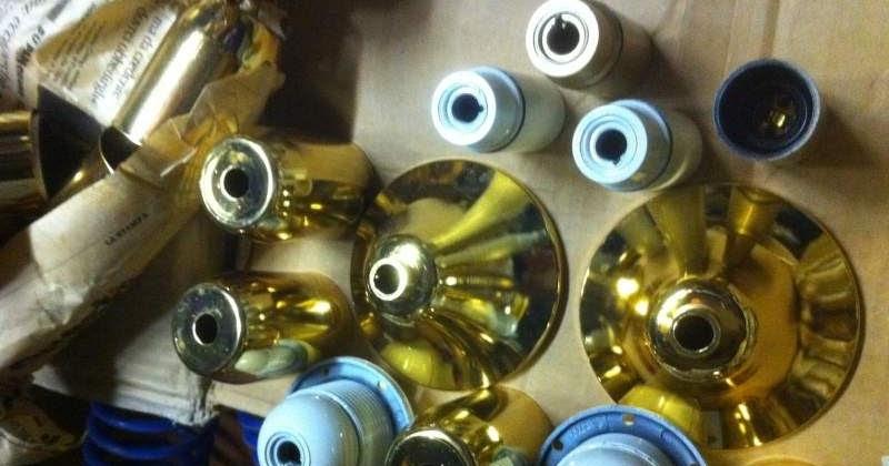 riparazione lampadari : Accessori ricambi e minuteria per lampadari : Minuteria,portalampade ...