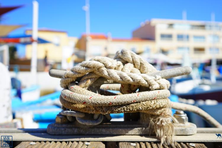Le Chameau Bleu - Blog Voyage Var - Bitte d'amarrage - Port du Brusc - Six Fours les Plages