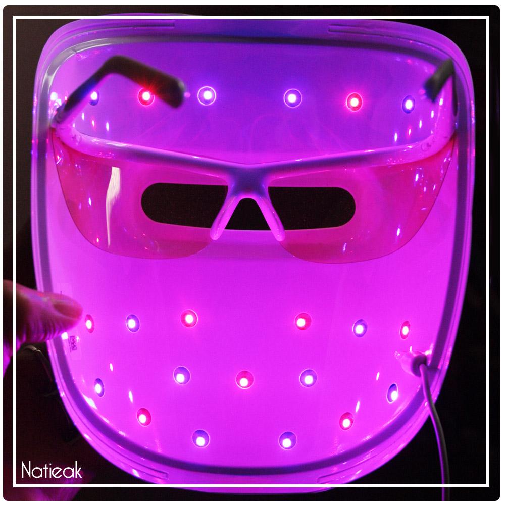masque luminothérapie neutrogena prix