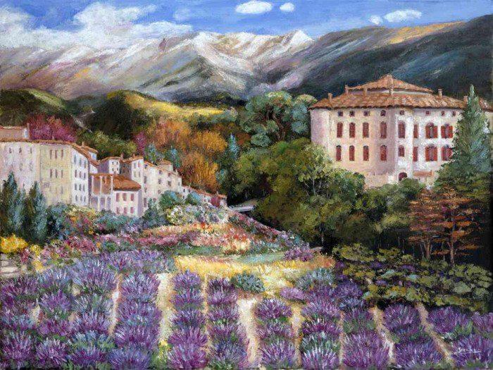 Soo Cha Griffith e suas pinturas ~ Pintora de arquitetura urbana