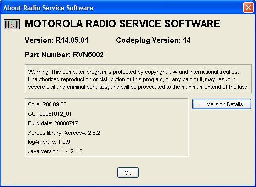 Radio Service Software