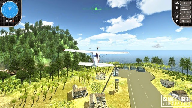 Island Flight Simulator PC Games Gameplay