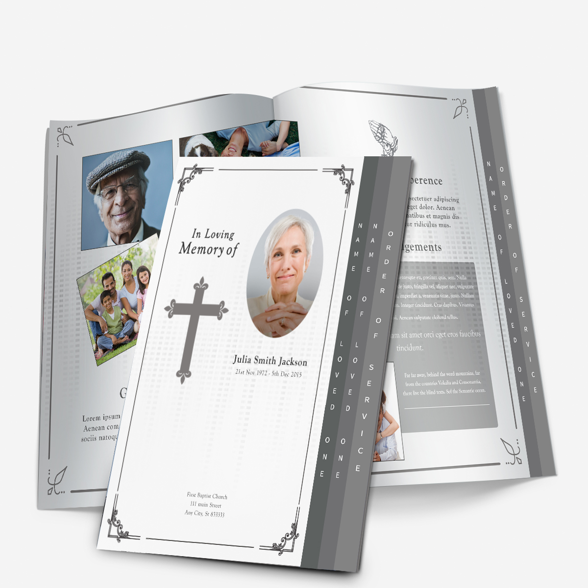 Obituary Cards Templates Lpn Travel Nurse Sample Resume The%2B4  Page%2BGraduated%2BTemplate Obituary Cards Templateshtml Free Printable  Memorial Service ...  Memorial Pamphlet Template Free