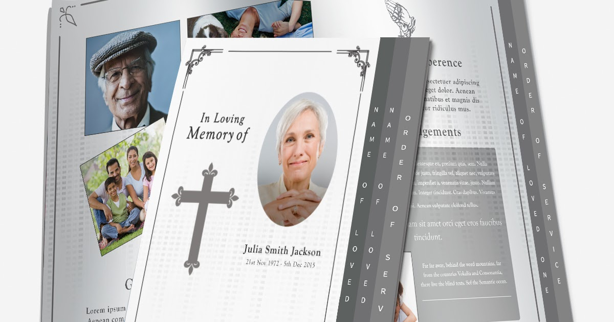 writing an obituary when there is no funeral