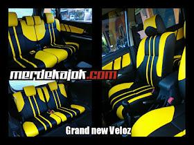 Cover Jok Grand New Avanza Interior Mobil Malang Merdekajok Veloz Mbtech Camaro