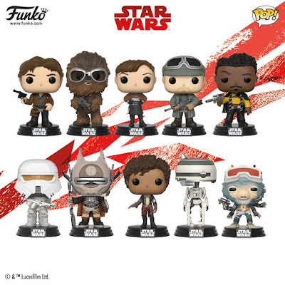 Solo A Star Wars Story Pop! Vinyl Figures by Funko