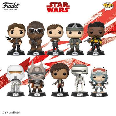 Solo A Star Wars Story Pop! Vinyl Figures by Funko