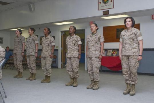 Female Marines USMC Poolee 2 Poolee