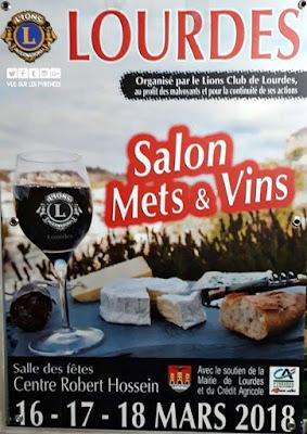 salon Mets et Vins Lourdes 2018