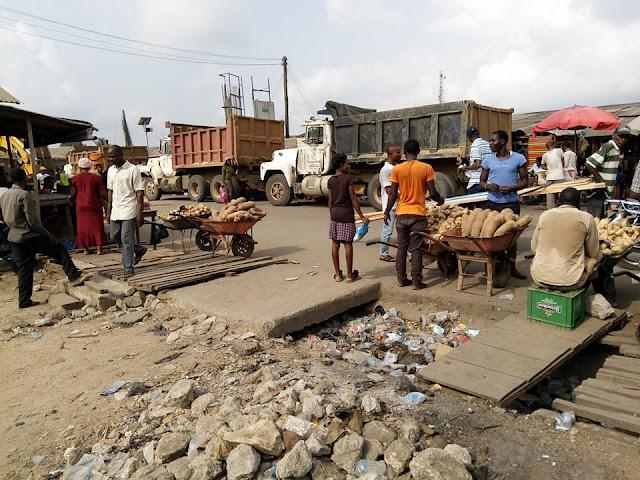 (Pictures) Day 1, Urua Nka Eket Timber Market Infrastructure | Akwa Ibom State Ministry Of Works Photo Credit: Naijacityblog