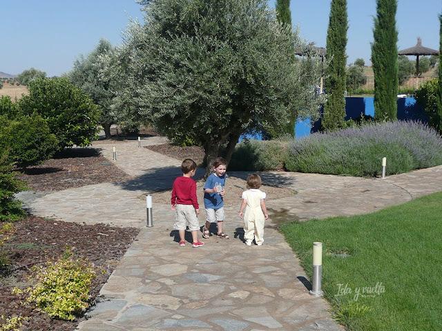 Hoteles para ir con niños Villa Nazules