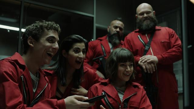 La Casa de Papel un éxito en Netflix