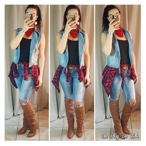 Un blog de fille diy 4 costumes d guisements simples et faciles avec des v tements de tous - Deguisement sorciere fait maison ...