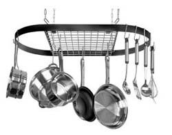 Kinetic Classicor Series Wrought-Iron Pot Rack