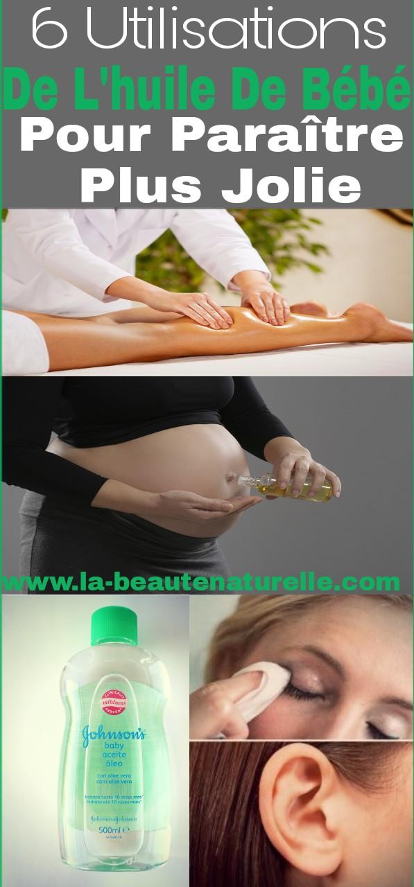 6 utilisations de l'huile de bébé pour paraître plus jolie