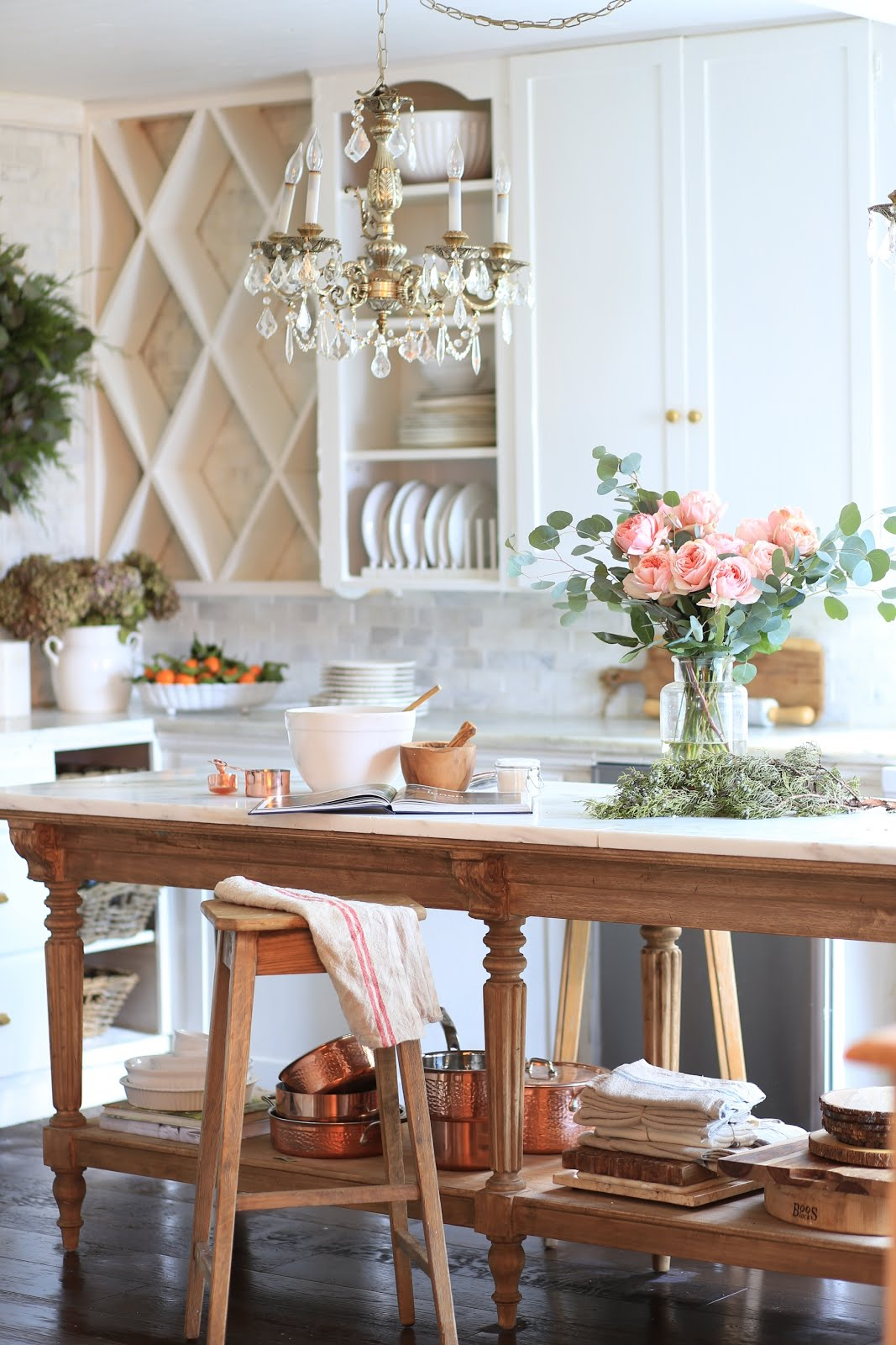 French Cottage Kitchen Style & Copper Pots & Pans Giveaway ...