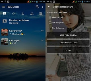 Download Tema BBM MOD Change Background v3.2.0.6 APK Versi Terbaru