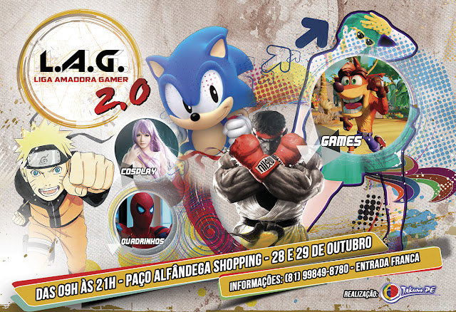 Liga Amadora Gamer 2.0. realiza Evento no Paço Alfândenga em Outubro