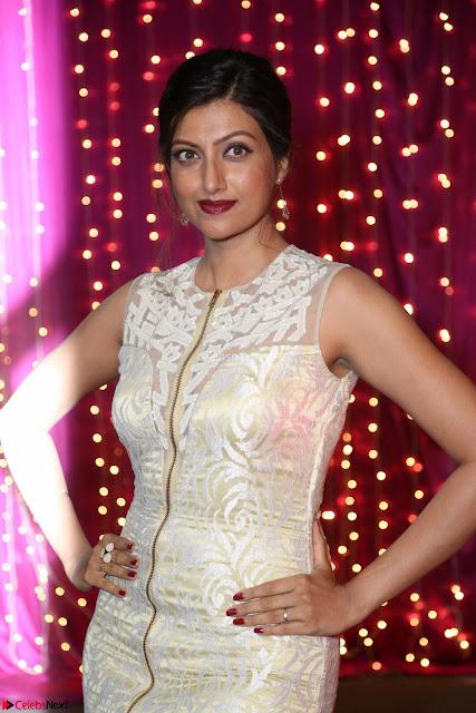 Hamsa Nandini in stunning Sleeveless Designer Gown at Zee Telugu Apsara Awards 2017 06.JPG