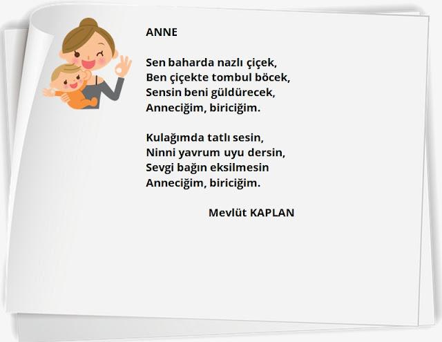 anne odaklı şiirler