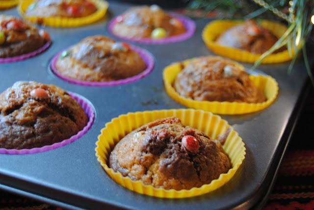 muffinki z kakao