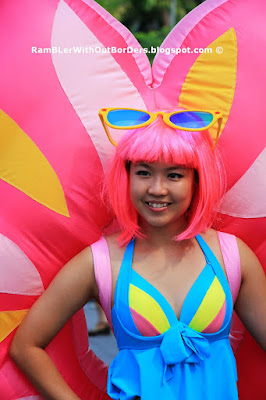 Cosplay artist, SEA Games Carnival, Sports Hub, Singapore