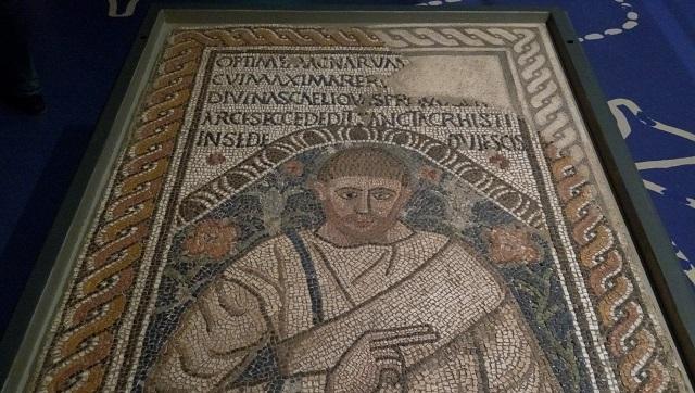 Mosaic d'una sepultura