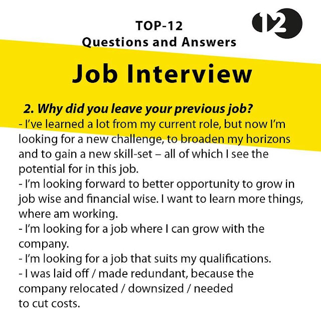 careers questions