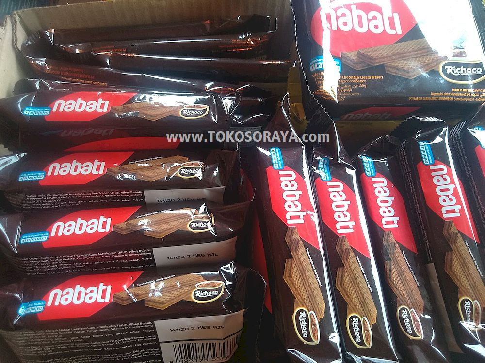 photo produk Nabati Richoco Wafer Krim Cokelat 50g