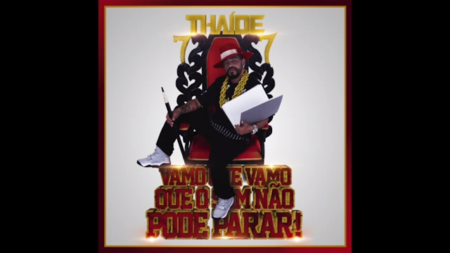 """Thaide lança o álbum !""""Vamo que vamo que o som não pode Parar"""" nas principais plataformas digitais #Youtube"""